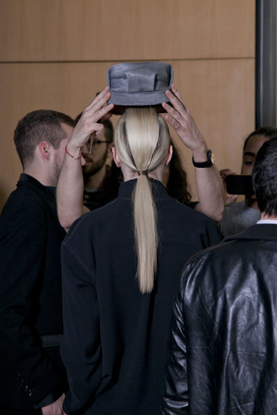 John Galliano at Paris Fall 2013 (Backstage)
