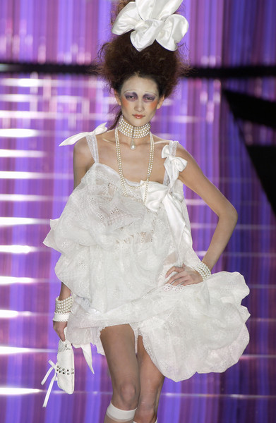 John Galliano at Paris Spring 2004