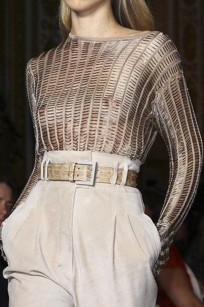 Julien Macdonald at London Spring 2009 (Details)