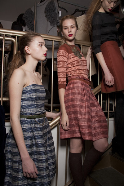 Karen Walker at New York Fall 2010 (Backstage)