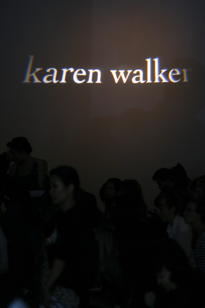 Karen Walker at New York Spring 2011