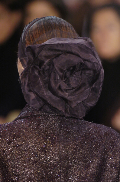 Karl Lagerfeld at Paris Fall 2005 (Details)