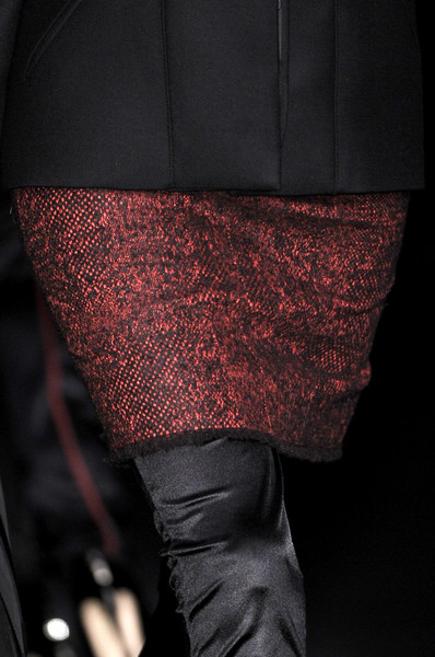 Karl Lagerfeld at Paris Fall 2009 (Details)