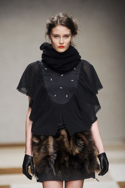 Kristina Ti at Milan Fall 2012