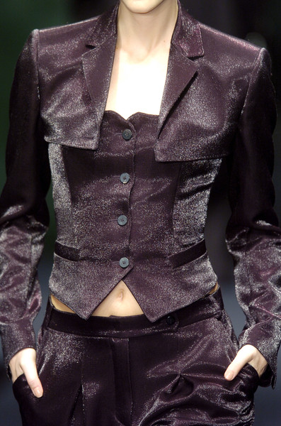 Krizia at Milan Fall 2005 (Details)