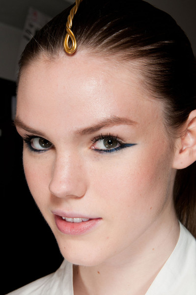Krizia at Milan Fall 2012 (Backstage)