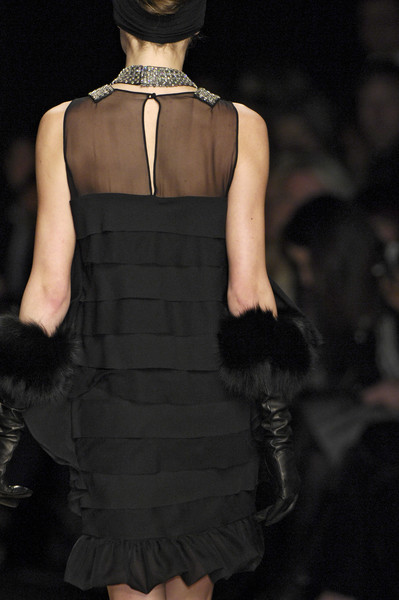 La Perla at Milan Fall 2008 (Details)