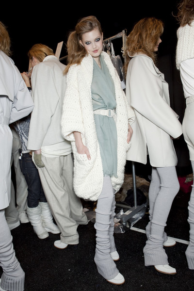 Lacoste at New York Fall 2010 (Backstage)