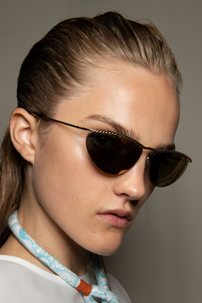 Lanvin at Paris Spring 2020 (Backstage) [eyewear,sunglasses,hair,glasses,face,hairstyle,chin,cool,eyebrow,vision care,sunglasses,spark plug,champion,glasses,beauty,hairstyle,face,lanvin,paris fashion week,fashion show,lanvin,sunglasses,ready-to-wear,paris,fashion show,champion rv15yc4 spark plug,beauty,glasses,spring]