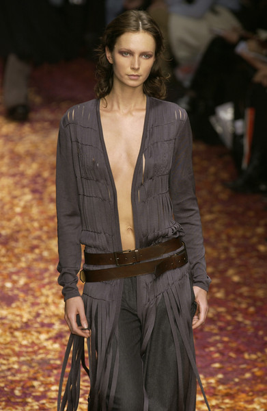 Laura Biagiotti at Milan Fall 2002