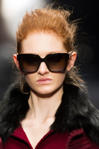 Laura Biagiotti at Milan Fall 2013 (Details)