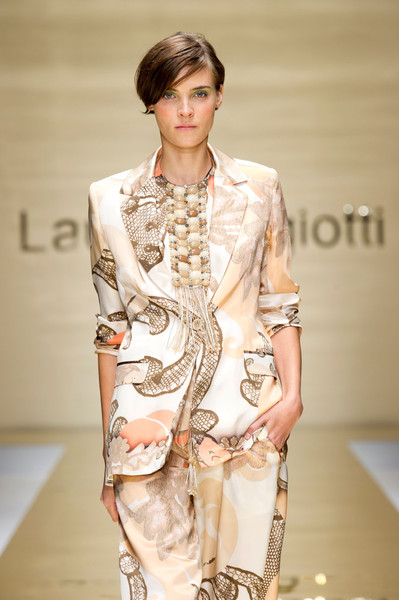 Laura Biagiotti at Milan Spring 2012