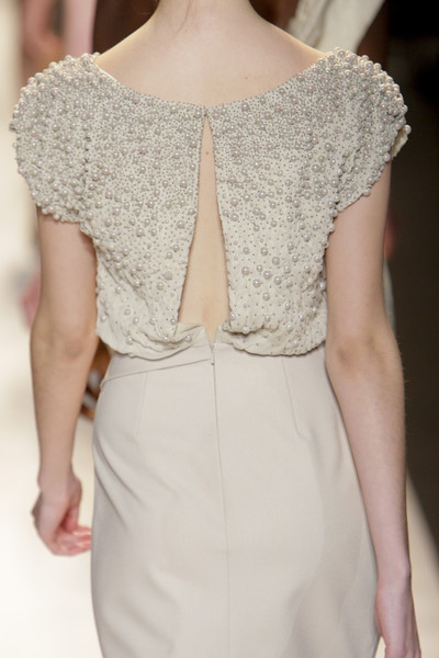 Lela Rose at New York Fall 2010 (Details)