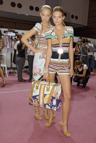 Leonard at Paris Spring 2007 (Backstage)