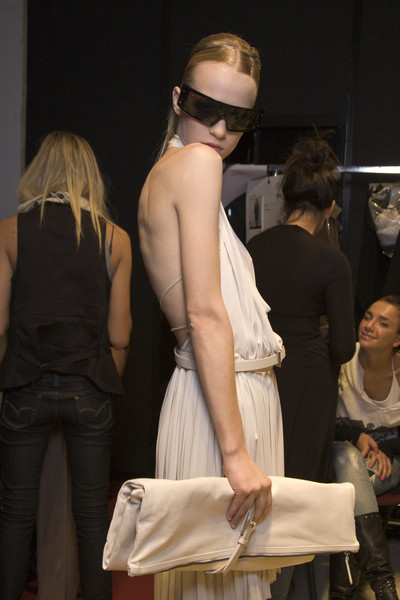Les Copains at Milan Spring 2010 (Backstage)