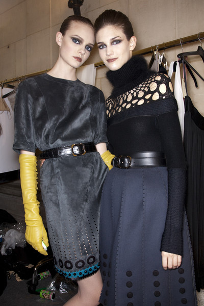 Loewe at Paris Fall 2009 (Backstage)