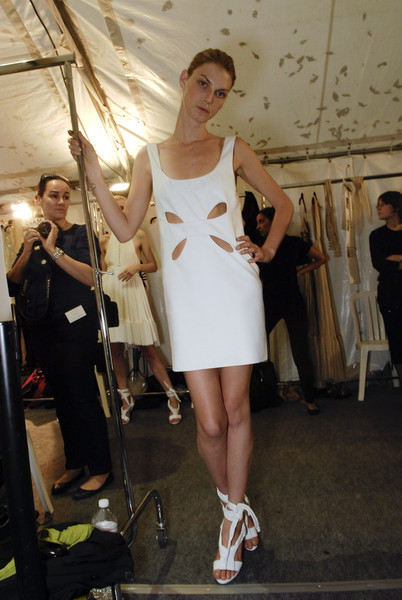 Loewe at Paris Spring 2008 (Backstage)