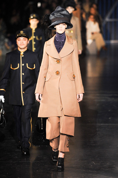 Louis Vuitton at Paris Fall 2012