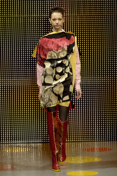 Louise Gray at London Fall 2011