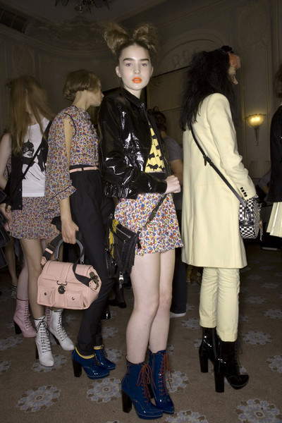 Luella at London Spring 2008 (Backstage)