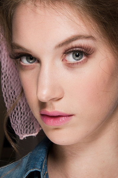 Luisa Beccaria at Milan Fall 2012 (Backstage)