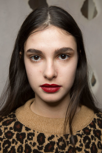 Luisa Beccaria at Milan Fall 2019 (Backstage)