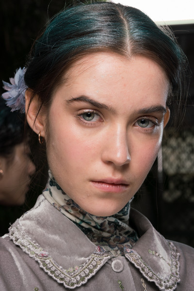 Luisa Beccaria at Milan Fall 2020 (Backstage) [portrait photography,hair,face,eyebrow,hairstyle,chin,beauty,lip,forehead,fashion,cheek,socialite,luisa beccaria,fashion,haute couture,model,hairstyle,eyebrow,milan fashion week,fashion show,haute couture,fashion show,ready-to-wear,portrait photography,fashion,model,socialite,autumn,2020,portrait]