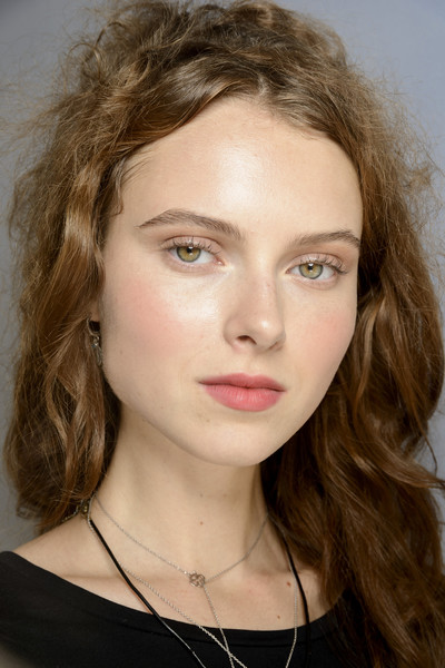 Luisa Beccaria at Milan Spring 2019 (Backstage) [hair,face,eyebrow,hairstyle,lip,chin,beauty,blond,forehead,head,luisa beccaria,beauty,fashion,hair coloring,makeup,eye shadow,lips,hairstyle,lip,milan fashion week,facial makeup,beauty,eye shadow,fashion,hair coloring,mac cosmetics,cream,lips,autumn]