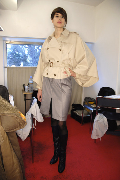 Lutz at Paris Fall 2008 (Backstage)