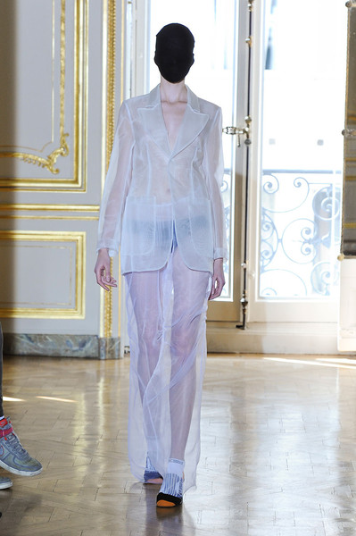 Maison Martin Margiela at Couture Fall 2011 [image,fashion,clothing,white,haute couture,fashion model,runway,fashion show,pantsuit,event,outerwear,couture fall,fashion,runway,maison martin margiela,haute couture,model,clothing,fashion model,fashion show,runway,haute couture,fashion,fashion show,maison margiela,model,livingly,image,autumn]