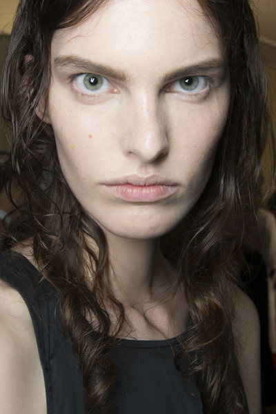 Maison Martin Margiela at Paris Spring 2014 (Backstage) [image,hair,face,eyebrow,lip,hairstyle,chin,beauty,cheek,nose,skin,maison martin margiela,beauty,makeup,fashion,model,hairstyle,face,eyebrow,paris fashion week,beauty,facial makeup,fashion,portrait -m-,model,image3,jake vs me-mow,image 4,alicia sandeman makeup artists,clown]