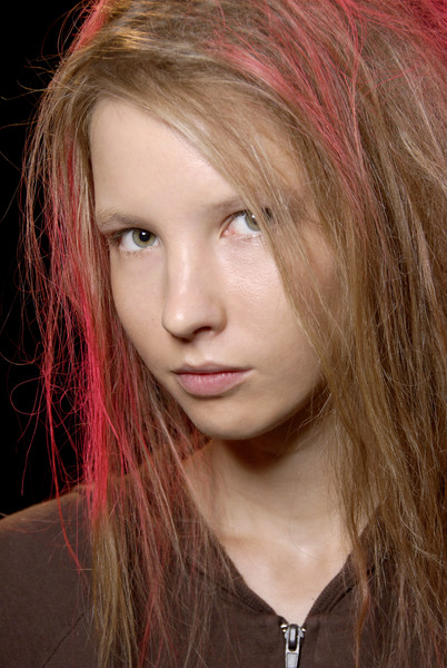 Marc by Marc Jacobs at New York Spring 2008 (Details) [hair,face,hairstyle,hair coloring,eyebrow,blond,chin,lip,layered hair,beauty,blond,marc by marc jacobs,hair,hair coloring,brown hair,red hair,hair,eyebrow,hair m,new york fashion week,blond,hair coloring,bangs,hair m,long hair,brown hair,red hair,layered hair,hair,portrait]