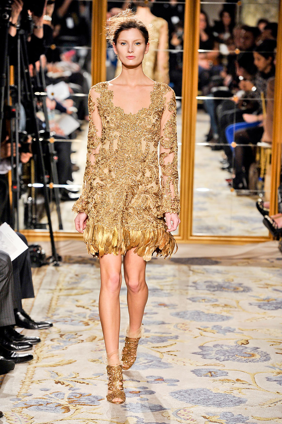 Marchesa at New York Fashion Week Fall 2012
