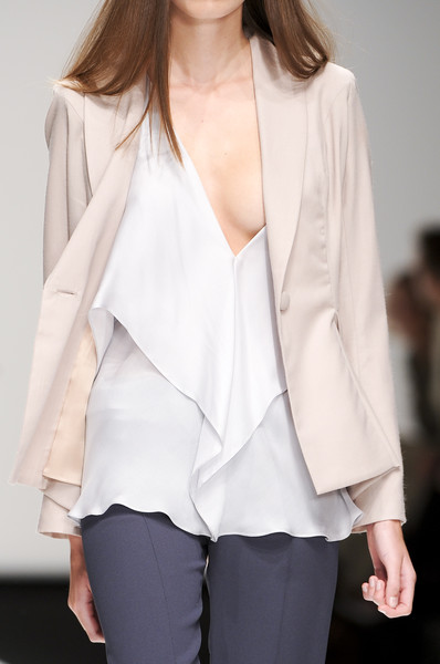Maria Grachvogel at London Spring 2011 (Details)