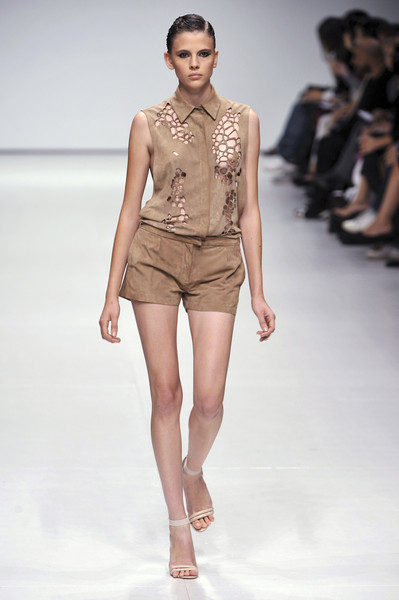 Marios Schwab at London Spring 2009