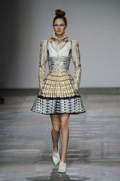Mary Katrantzou at London Fall 2012