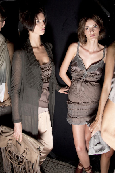 Massimo Rebecchi at Milan Spring 2010 (Backstage)