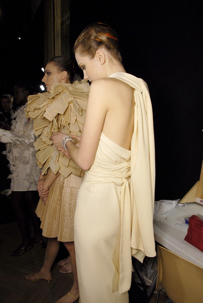Maurizio Galante at Couture Spring 2007 (Backstage)