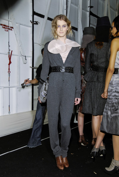 Max Azria at New York Fall 2008 (Backstage)