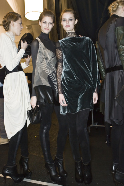 Max Azria at New York Fall 2009 (Backstage)