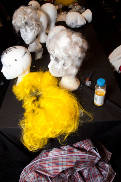 Meadham Kirchhoff at London Fall 2012 (Backstage)