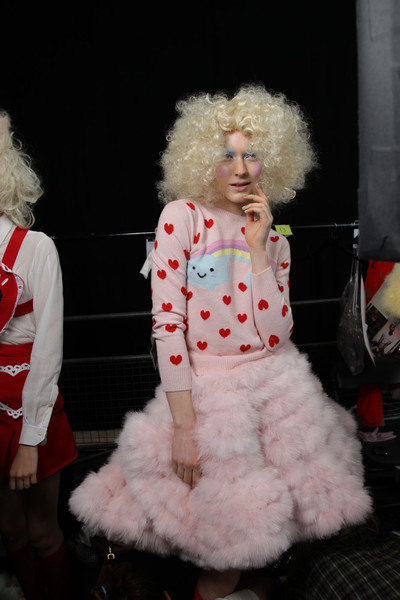Meadham Kirchhoff at London Spring 2012 (Backstage)