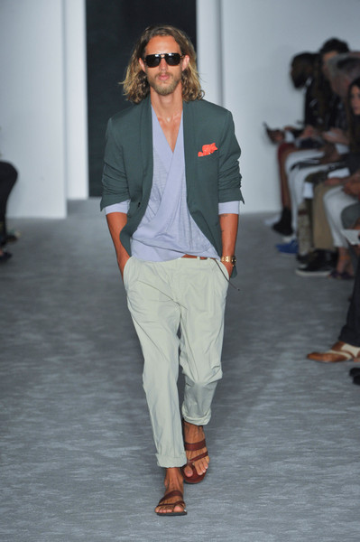 Michael Bastian at New York Spring 2013