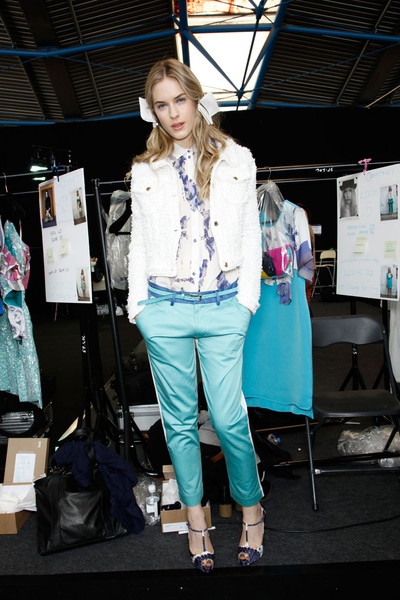 Michael van der Ham at London Spring 2012 (Backstage)