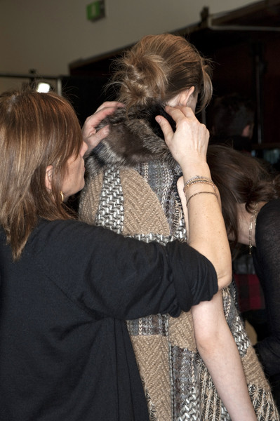 Missoni at Milan Fall 2010 (Backstage)
