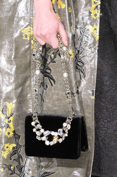 Miu Miu at Paris Fall 2016 (Details) [black,yellow,fashion accessory,necklace,fashion,jewellery,body jewelry,hand,chain,neck,jewellery,necklace,fashion,gemstone,yellow,fashion week,miu miu,item,neck,paris fashion week,gemstone,jewellery,religious item,necklace-m,necklace,\u6bcf\u65e5\u982d\u689d,fashion week,fashion,yellow]
