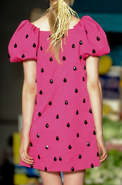 Moschino Cheap & Chic at Milan Spring 2012 (Details)
