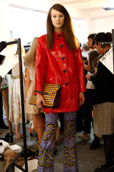 Moschino Cheap & Chic at London Spring 2013 (Backstage)
