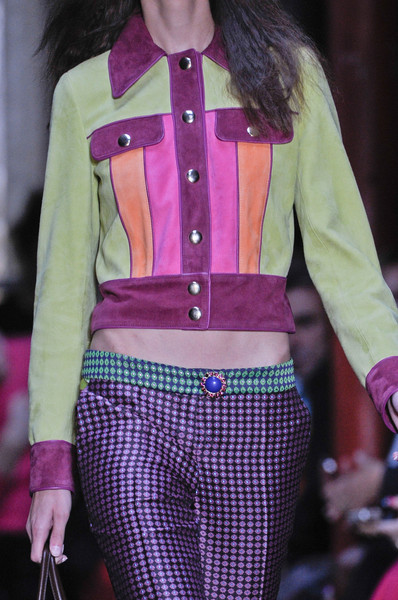 Moschino Cheap & Chic at London Spring 2013 (Details)