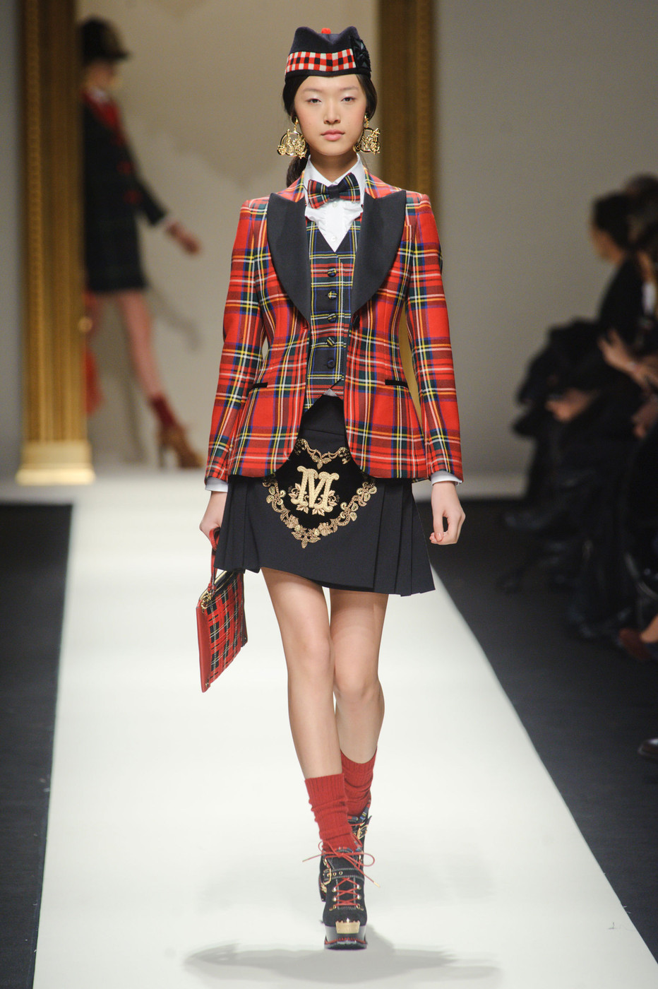 Moschino at Milan Fashion Week Fall 2013